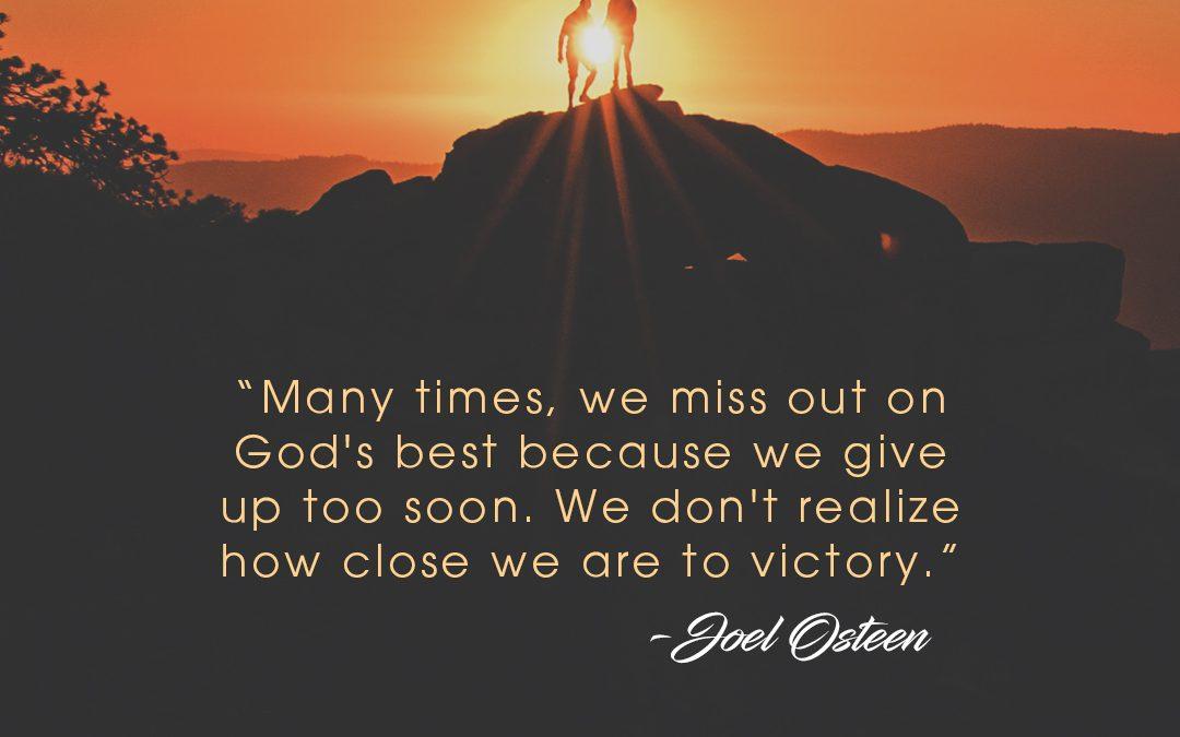 God Of Comfort, God Of Victory