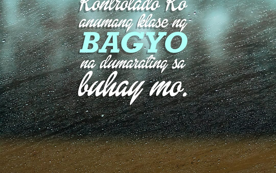Kapag may bagyo